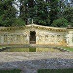 Giardino interno della Villa