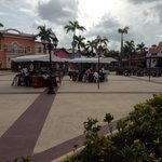 Pueblo principe - where the market place, casino, club and karaoke are (shared by all Bahia reso