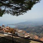 panorama da Castelmola Messina
