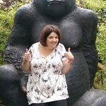 its a gorilla!!!