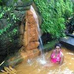 a wonderful hot natural mineral spring bath