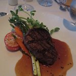 Filet Mignon 6 oz., excellent