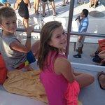 On the Catamaran.