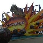 Dinosaur ride in Animal Kingdom