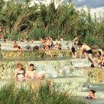 Hot pools at Therme di Saturnia