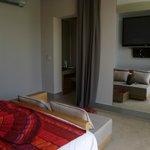 Deluxe suite bedroom.