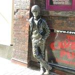 John Lennon Statue near Cavern Club