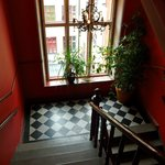 escalier hotel
