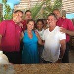 Gracias a William, Cesar, Julio Cesar, y Yahaira del Wet Bar. Fue una semana maravillosa! See yo