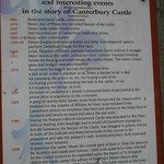 Canterbury Castle Diagram