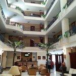 The lobby at Wassamar Hotel