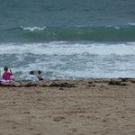 The beach is breath taking