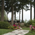 The Patio at Mallard Cove, Overlooking Puget Sound