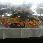 Fresh fruit everyday