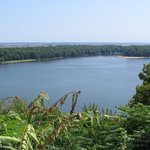 Mississippi River flows by Hannibal, Missouri