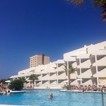 View from sun lounger