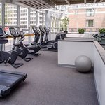 Our StayFit® fitness center features the latest in Life Fitness® Cardio equipment.