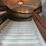 Sweeping Staircase from Lobby