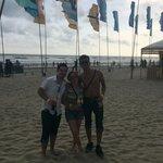 Playa diamante en el nuevo acapulco en en evento corona sunsets