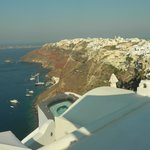 View of Oia from our patio