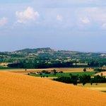 Cuq Toulza landscape