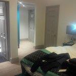 room with interconnecting door
