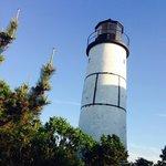 The lighthouse on Sandy Neck