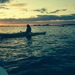 Sunset in Barnstabel Harbor