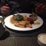 Fillet steak dinner