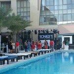 Dragon Hotel Swimming pool Bahrain, Amwaj- Saud