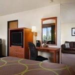 Two Queen Bed Suite with Queen Sofa Sleeper