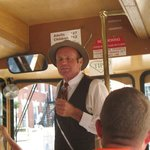 """""""Johnny Mercer"""" on the Trolley"""