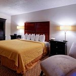 MSQuality Inn Moss Point King Suite Room