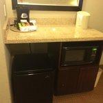 Coffee - Microwave - Fridge