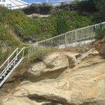 Challenging Beach Access