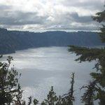 Stunning Blue Crater Lake