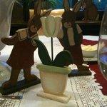 Des décors de table très soignés : C'est Pâques