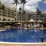 The Kea Lani adult pool allows access to a great water slide. Service is top notch all around an