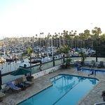 View from balcony marina side
