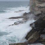 The power of the Pacific off Bondi coaster walk