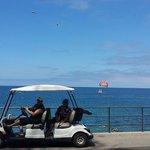 Golf cart- Parasailing