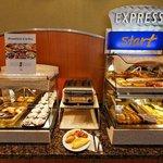 Full buffet breakfast for an Express Start!