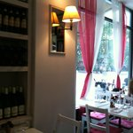 Cute little place with a nice wine selection