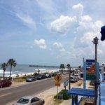 Roof top dining overlooking Flagler Beach & the Ocean