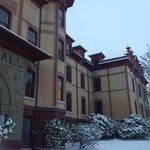 Waldo Hall in the snow