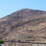 Mount Roja from walkway