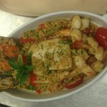 Seafood Couscous....