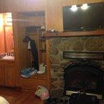 Overnight cabin - inside