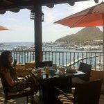 View from Breakfast Restaurant