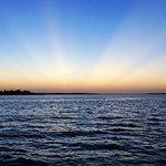 Beautiful sunset upon the Black Watch